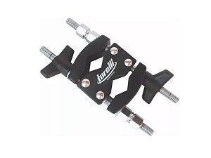 Clamp Suporte Epoxi Com 2 Conexões Multiuso Torelli Ta424