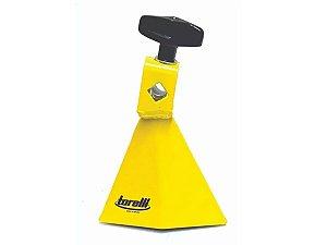 Jam Bell Agudo Amarelo Com Presilha Pra Fixação Torelli