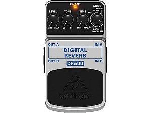 pedal reverb para guitarra e violão digital behringer dr600