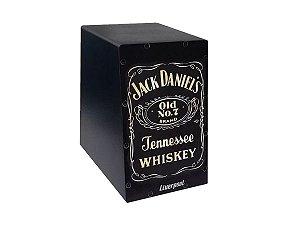 Mini Cajon Estampa Jack Daniels Liverpool Cajon De Dedo