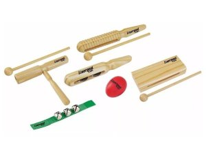Kit Musicalização Infantil Liverpool 6 Itens Kit Inf02