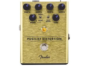 Pedal Fender Pugilist Distortion e overdrive Para Guitarra
