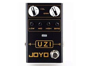 Pedal Joyo Uzi Distorção De Guitarra som pesado metal