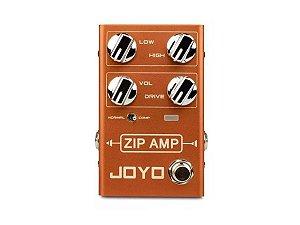 Pedal Joyo R-04 Zip Amp Overdrive com compressor p/ guitarra