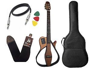 violão vazado marques vn18 captação fishman eletrico nylon