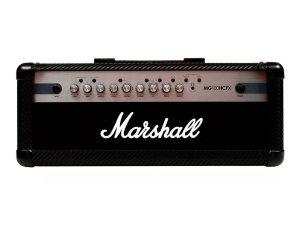 Cabeçote Marshall Mg100hcfx 100w C/ Footswitch Efeitos Drive