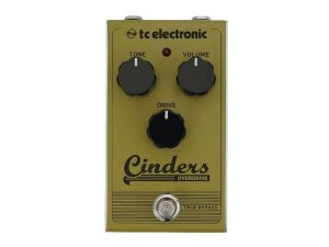 Pedal Tc Electronic Cinders Overdrive Para Guitarra