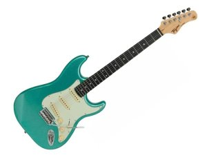 Guitarra Tagima Tg500 Surf Green Verde Claro Strato Metallic