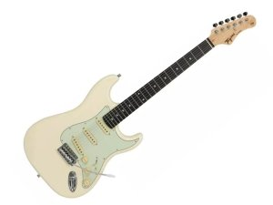 Guitarra Tagima Tg500 Strato Olympic White Branco