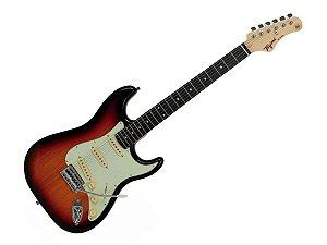 Guitarra Tagima Tg500 Strato Sunburst