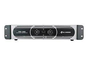 Potência Ll Audio Pro1600 400w Rms Amplificador Profissional