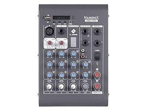 Mesa De Som Ll Audio 4 Canais Nanomix Cdx502r Com Bluetooth