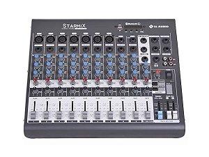 Mesa De Som 10 Canais Starmix Xms1002d Ll Audio