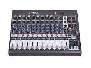 Mesa De Som 12 Canais starmix Ll Audio Xms1202d Bluetooth