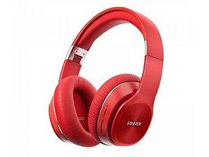 Fone Bluetooth Edifier W820bt Headphone Profissional Celular Vermelho