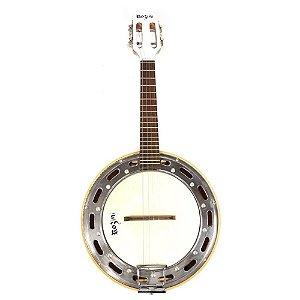 Banjo Elétrico Rozini Rj11 Branco Profissional