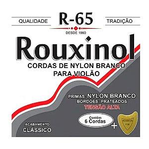 Encordoamento Violão Nylon Rouxinol R65 Tensão Alta