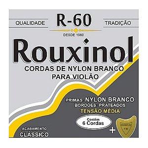 Encordoamento Violão Nylon Rouxinol R60 Tensão Média