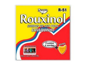 Encordoamento Cavaquinho Cavaco Aço Rouxinol R51 Tradicional