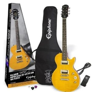 Kit Guitarra Epiphone Les Paul Special AFD + acessórios