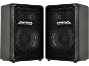 Kit Caixa Ativa + Passiva Datrel Fal 8 200w Usb Bluetooth