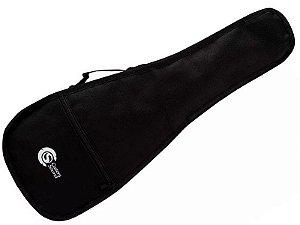 Capa Bag Ukulele Soprano acolchoado Custom Sound preto