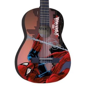 Violão Infantil spider man homem aranha Marvel Phx Vim-s1