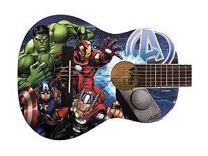 Violão Infantil Criança Avengers Marvel Phx VIMA1