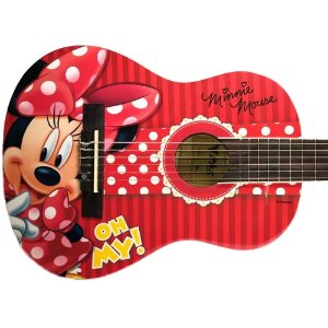 Violão Infantil Criança Minnie Disney Phx Vid-mn1