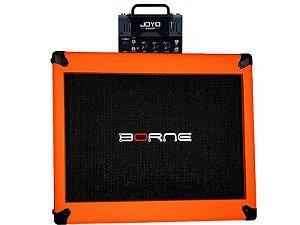 cabeçote joyo zombie mesa boogie caixa borne laranja orange 12