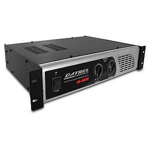Amplificador De Potencia Datrel Pa5000 Profissional 600 W