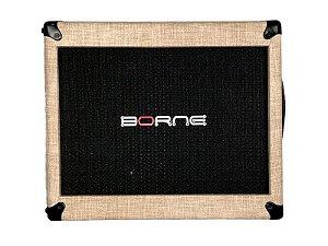 Gabinete caixa borne mob112 100w falante de 12 Palha creme