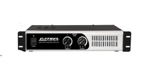 Amplificador De Potencia Datrel Pa10000 Profissional 1000 W