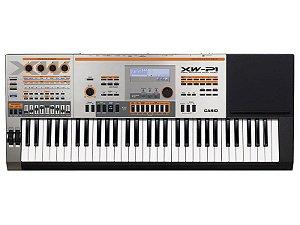 teclado sintetizador casio xw p1 61 teclas profissional