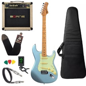 Kit Guitarra Tagima Tg530 Azul Cubo Borne Vorax 1050 w