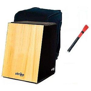Kit Cajon Fsa Strike SK 1000 Inclinado Acustico Capa bag