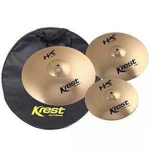 Kit set Pratos Krest Hx 14 16 20 + Bag hxset2