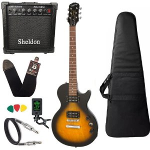 Guitarra les paul Epiphone Special VE Sunburst amplificador - Regulado