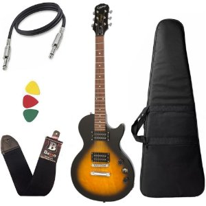 Guitarra les paul Epiphone Special VE Sunburst Vintage capa - Regulado