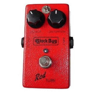 Pedal Distorção Black Bug Trt Red Tube