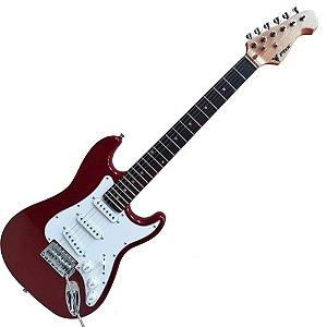 Guitarra Eletrica Phx Infantil Criança Jr Ist1 Vermelho 3/4