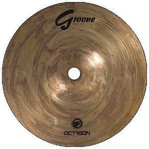 Prato Ataque Octagon Groove Full Crash 16 Bronze B8 Gr16fc