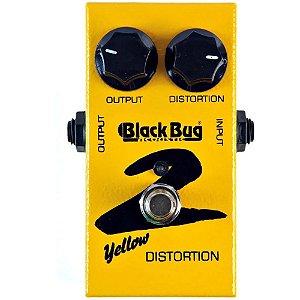 Pedal De Distorção Yellow Distortion Tyd-2 Black Bug
