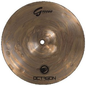 Prato Splash 8 octagon Groove Bronze B8 Gr08sp