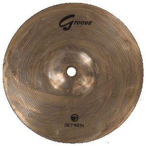 Prato Splash Octagon Groove 6 Bronze B8 Gr06sp