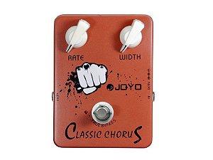 Pedal De Efeito Classic Chorus Joyo JF 05 Baixo Guitarra Violao