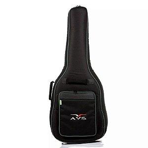 Capa Bag Para Violão Folk Avs Ch200 super luxo acolchoado