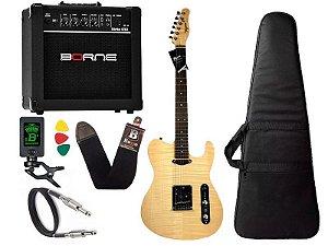 Kit Guitarra Tagima Cs3 Cacau Santos Signature Caixa G30
