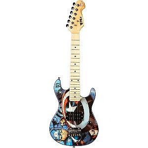Guitarra Infantil Criança Capitão America Avengers Marvel