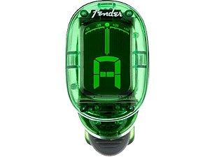 Afinador clip Cromático fender California  FT-1620 Verde